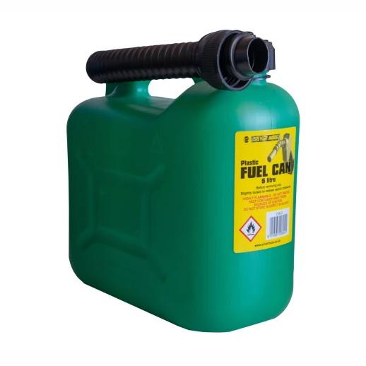Silverhook CAN2 Unleaded Petrol Can & Spout; Green (GN); 5 Litre