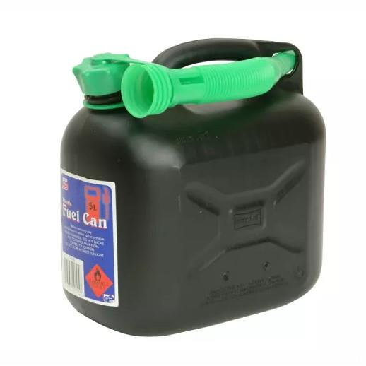 Silverhook CAN3 Diesel Fuel Can & Spout; Black (BK); 5 Litre