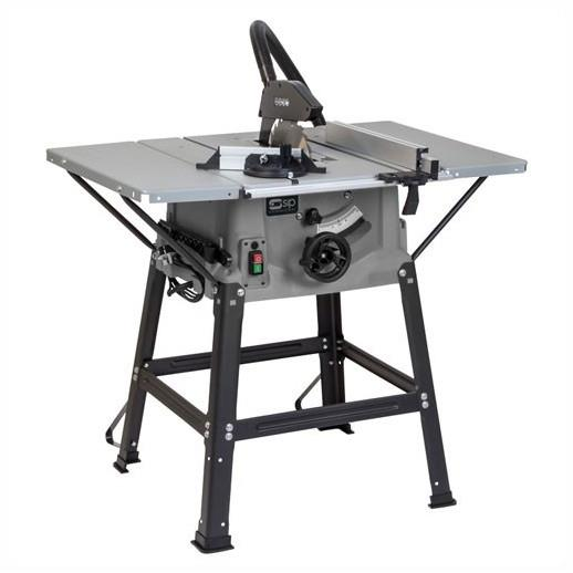 "SIP 01986 10"" Table Saw; 1600 Watt; With Stand And 3 Bed Extensions; Polycarbonate Base; 240 Volt"