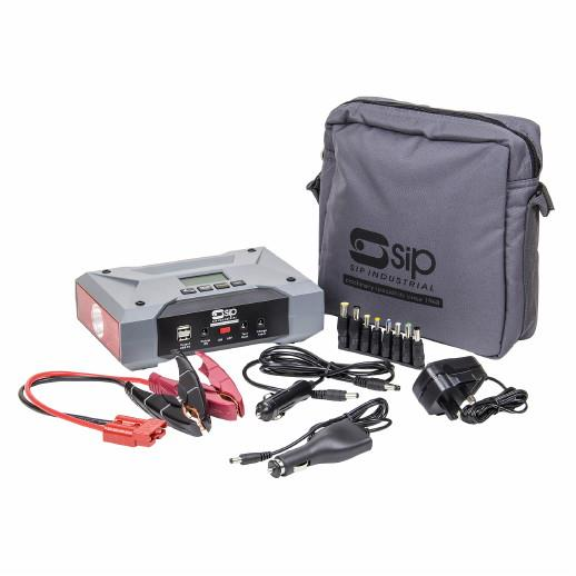 SIP 03973 Pro Booster 802Li; Multi-Function Booster /Power Pack; 12V Boost; 800Amp Peak Boost Rate; 2 x USB; 1 x Laptop (9v); 1 X 12v Outputs 5L Petrol And 3.5L Diesel Engines