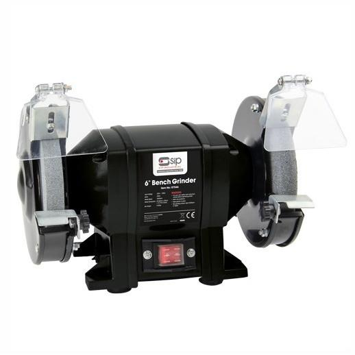 SIP 07546 6'' Trade Bench Grinder; 250 Watt Motor; 230 Volt