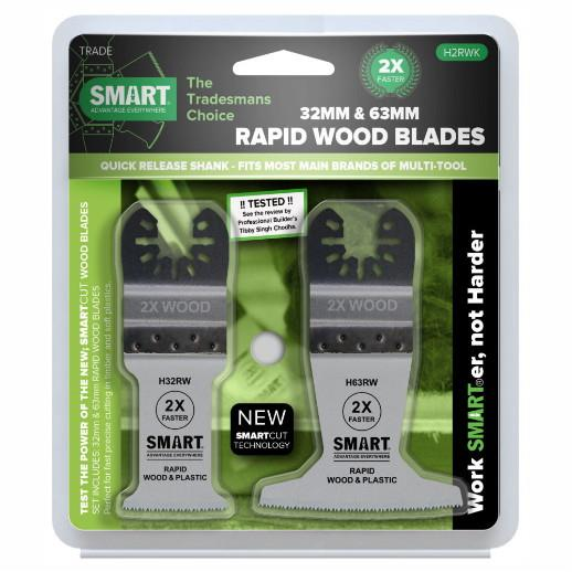 Smart H2RWK Blade Set; 2 Piece