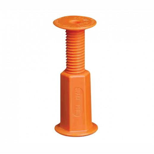 Space Plugs; Regular; Cabinet Spacer Plug; 30 - 50mm; Orange Plastic; Pack (10)
