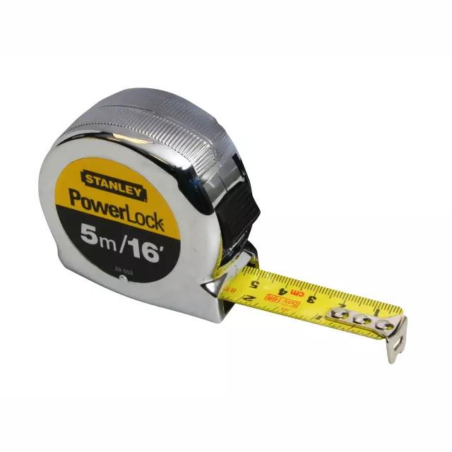 Stanley 0-33-553 Micro Powerlock Tape; 5 Metre/16ft