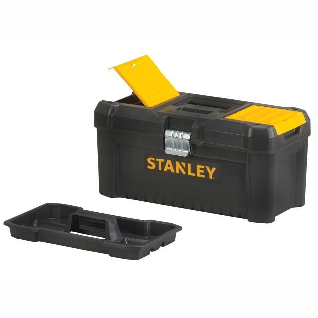 "Stanley 1-75-518 Basic Toolbox With Organiser Top; 406 x 205 x 195mm (16"")"