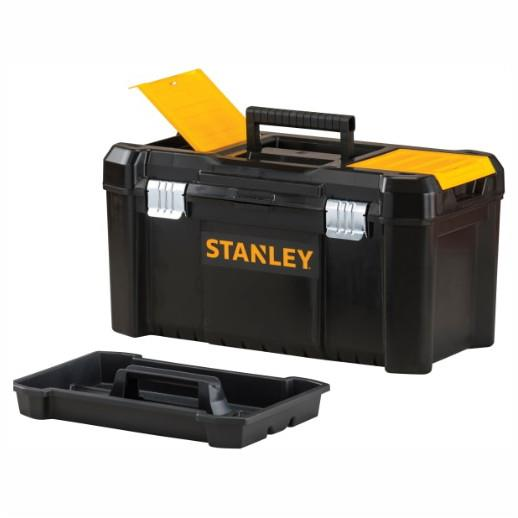 "Stanley 1-75-521 Basic Toolbox With Organiser Top; 482 x 254 x 250mm (19"")"