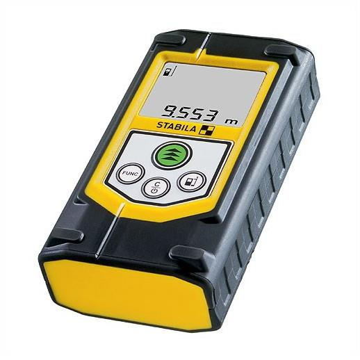Stabila LD320 Laser Distance Measurer; 40 Metre Range; 8 Function  Measurement Accuracy Typical:  ± 2 mm; Measures Areas & Cubes