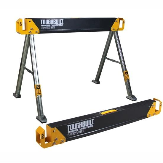 Toughbuilt TB-C550 Sawhorse; (Twin Pack)