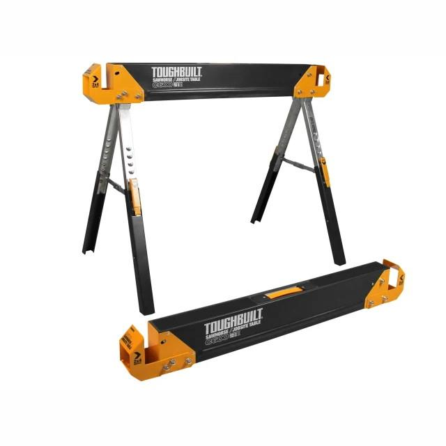 Toughbuilt TB-C600 Sawhorse; (Twin Pack)