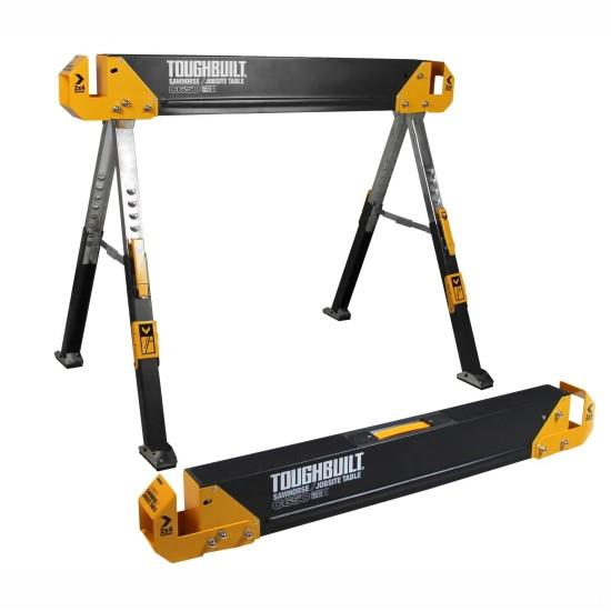 Toughbuilt TB-C650 Sawhorse; (Twin Pack)