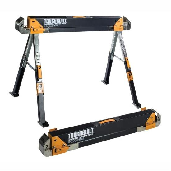 Toughbuilt TB-C700 Sawhorse; (Twin Pack)