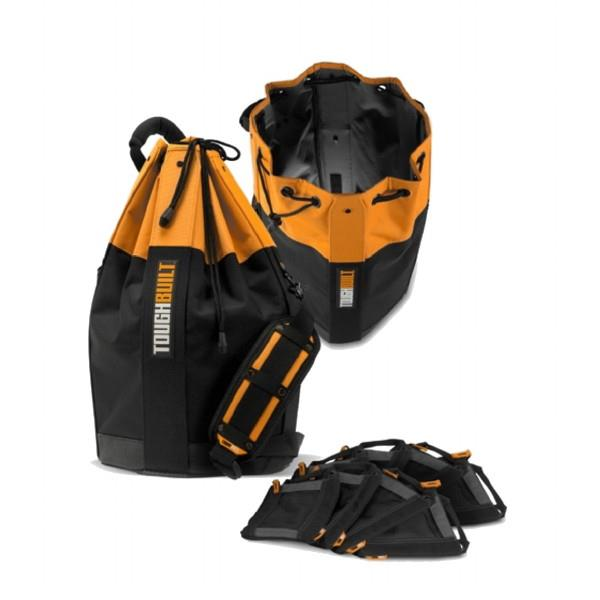 Toughbuilt TOU-DFS-01120B Duffle Tool Bag; Complete With 8 Fastener Bags