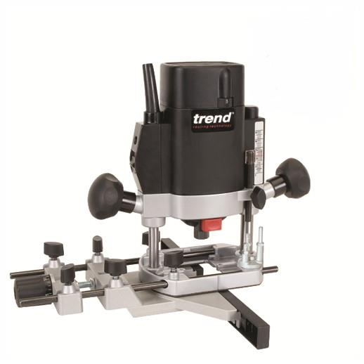 "Trend T5EB Variable Speed Router; 1000 Watt; 1/4"" Collets; 9000 - 27000 RPM; 240 Volt"