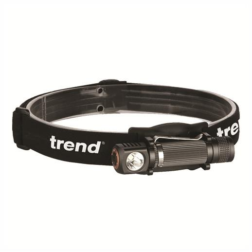 Trend TCH/HA/H10 LED Angle Head Torch; 115 Lumens; White Light Cree LED; Includes 1 x AA Batteries