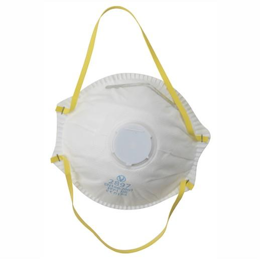 Vitrex 331031 FFP1 Sanding & Loft Insulation Premium Valved Moulded Mask