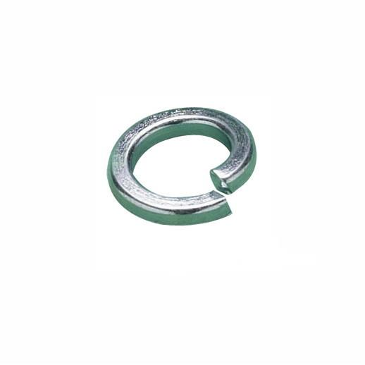 MetalMate Spring Washer; Square Section; Zinc Plated (ZP); M5