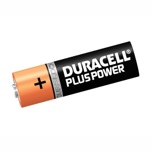Duracell Battery 'AA' Cell; Pack (8)