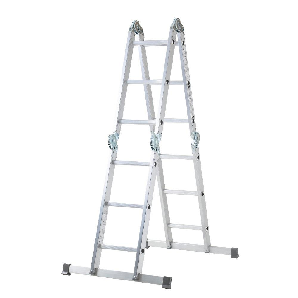 Youngman 576704 Multi-Purpose Ladder; Aluminium; 0.94m - 3.50m